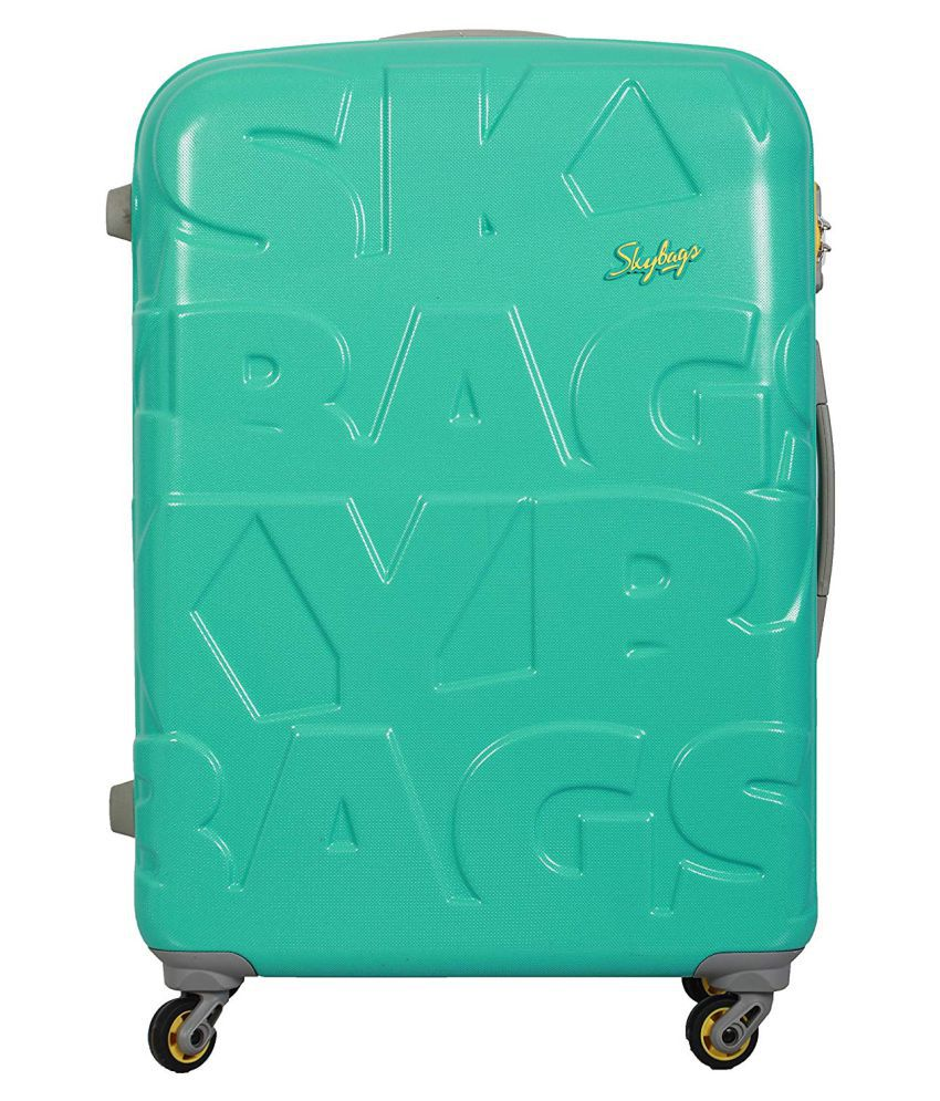 Skybags Green S (Below 60cm) Cabin RAMP Luggage