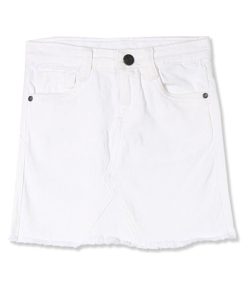 Girls Denim Pencil Skirt