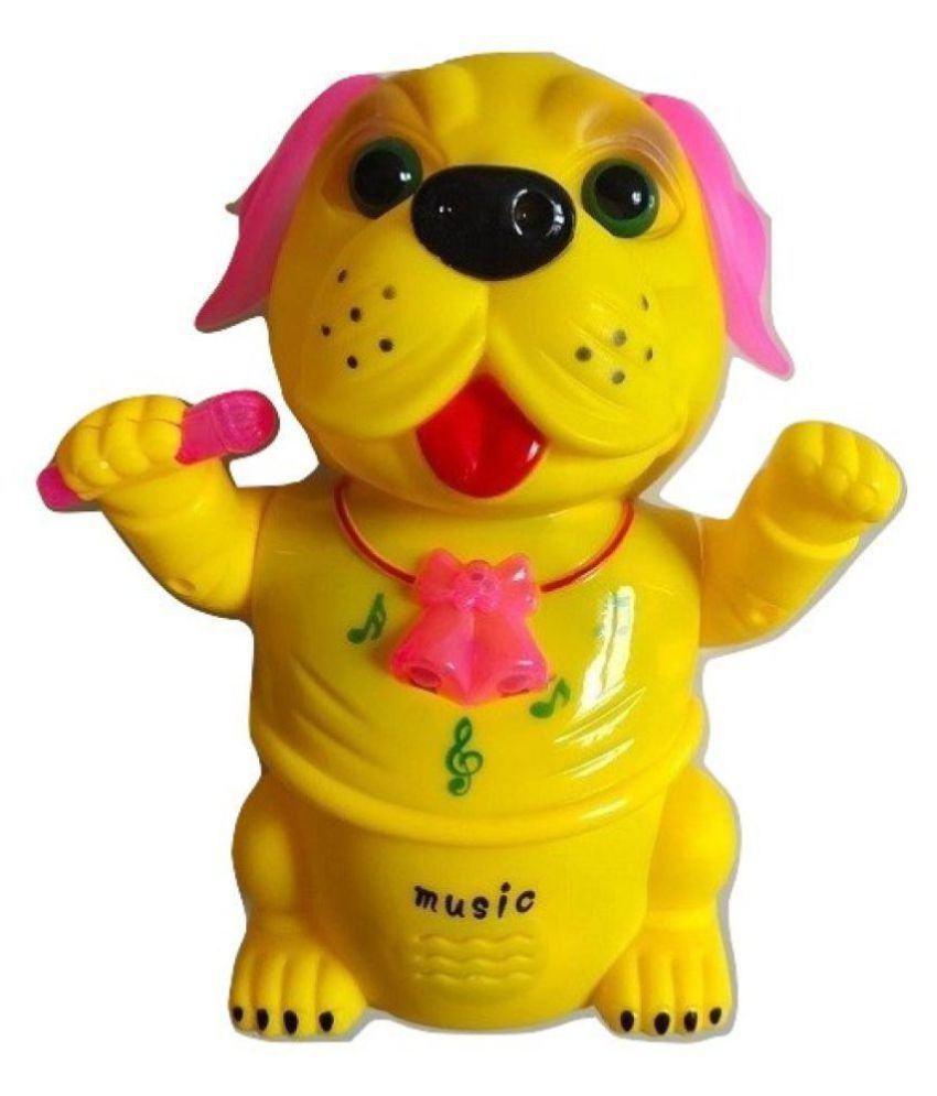 HAYWARD TOYS ® represents musical and lightinng dog for kids