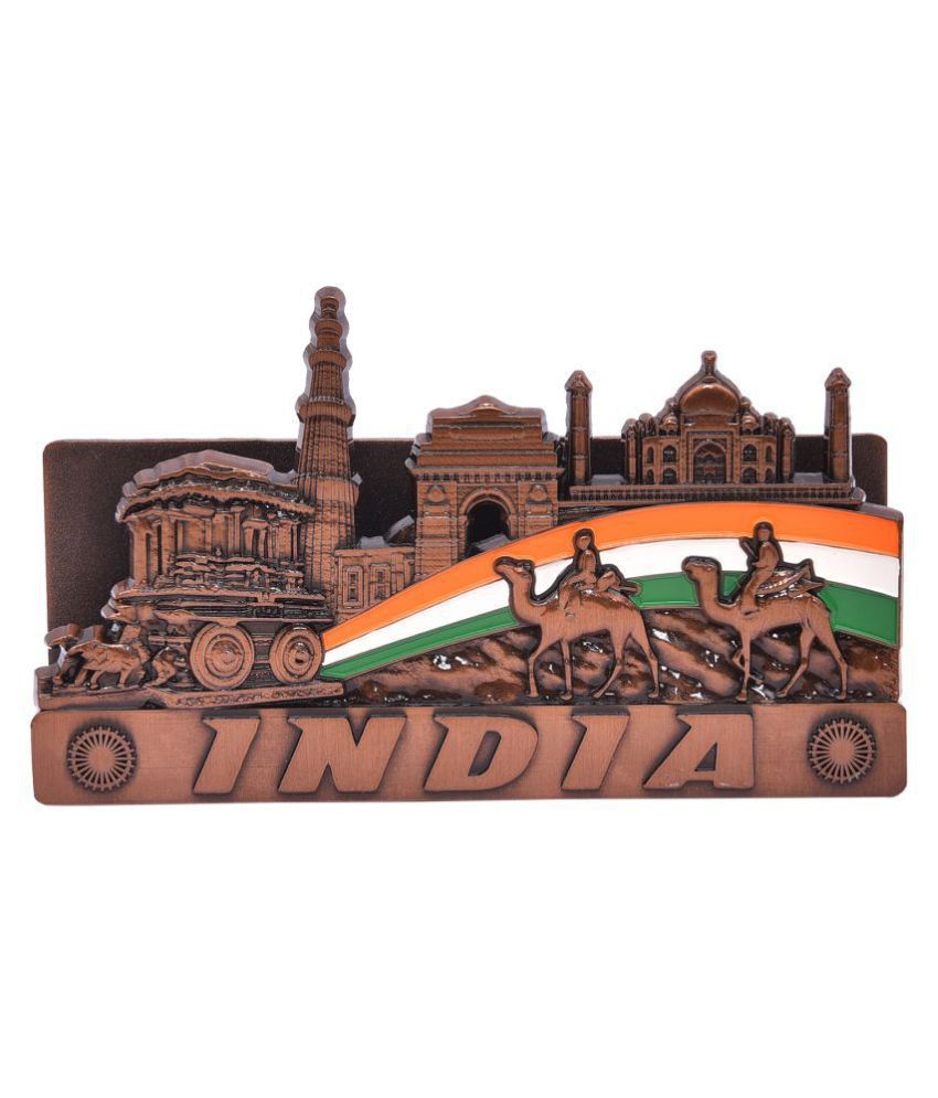 Hazzlewood copper material visiting card holder stand pack of one