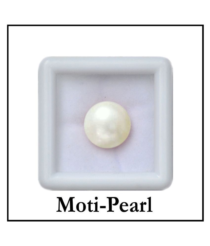 Maya Gems/Top Quality 6.25ct. Pearl (Moti) Gemstone