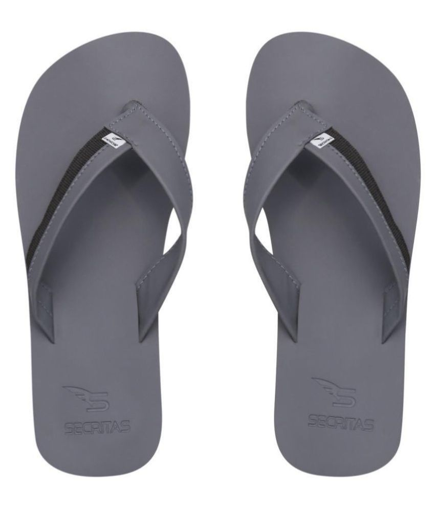 Secritas Gray Daily Slippers