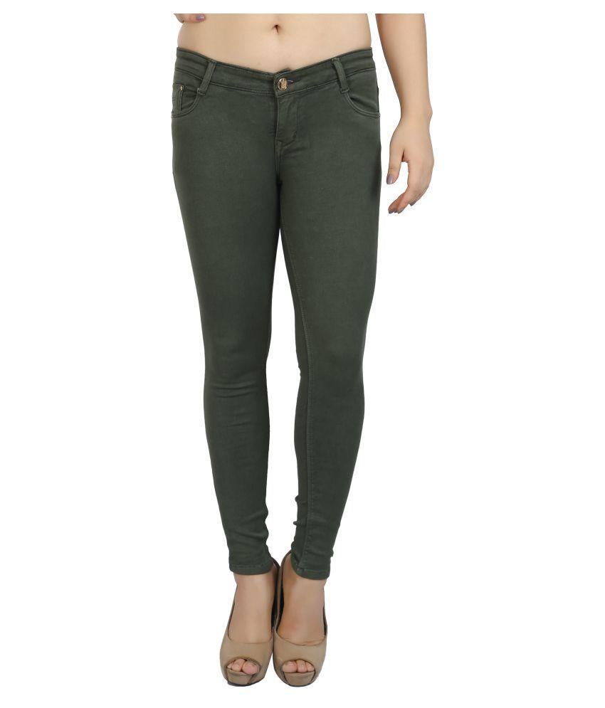 FCK-3 Denim Jeans - Green