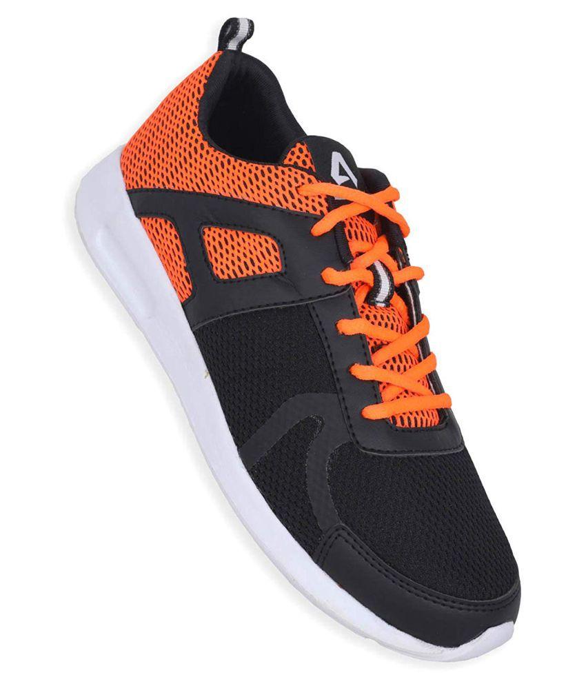 Avant Sigma Black Running Shoes
