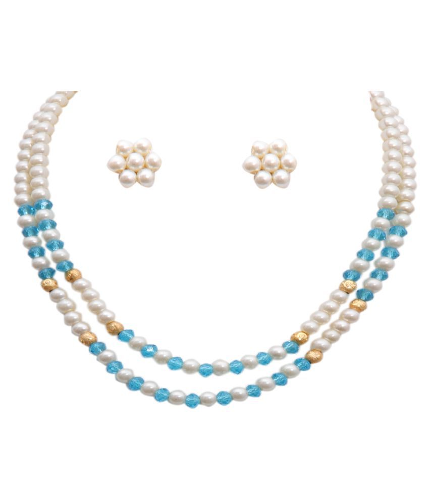 sharma pearls and jewellers Pearls Multi Color Other Designer