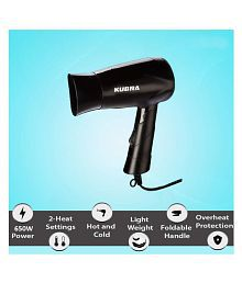 KUBRA KB-113 Professional Hair Dryer ( Black )
