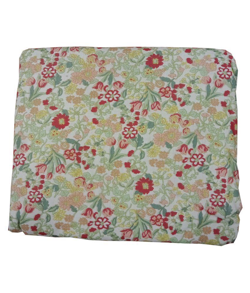 Welhouse India Single Cotton Multi Floral Dohar