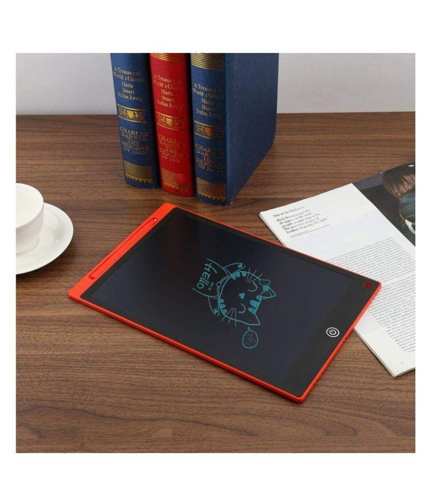 BANYAN LCD Writing Tab Screen Tablet Drawing Board Digital Portable for Kids & Adults LCD Writing Pad (RED)
