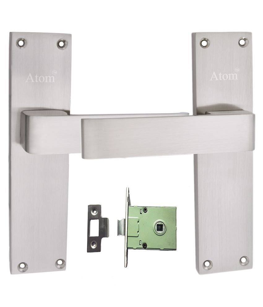 Mortice Handle, Mortice Lock, Door Lock, Lock, Atom O-33 Closed S.S Finish with Iron Latch,Mortise Lock,Door Lock,Bathroom Lock……