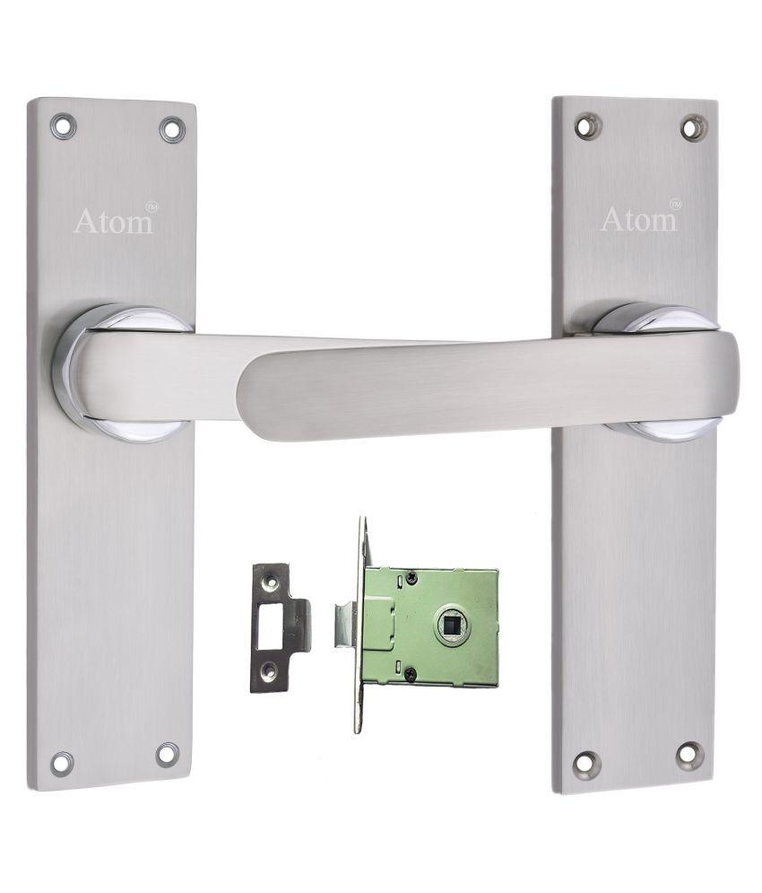 Mortice Handle, Mortice Lock, Door Lock, Lock, Atom O-35 Closed S.S Finish with Iron Latch,Mortise Lock,Door Lock,Bathroom Lock……
