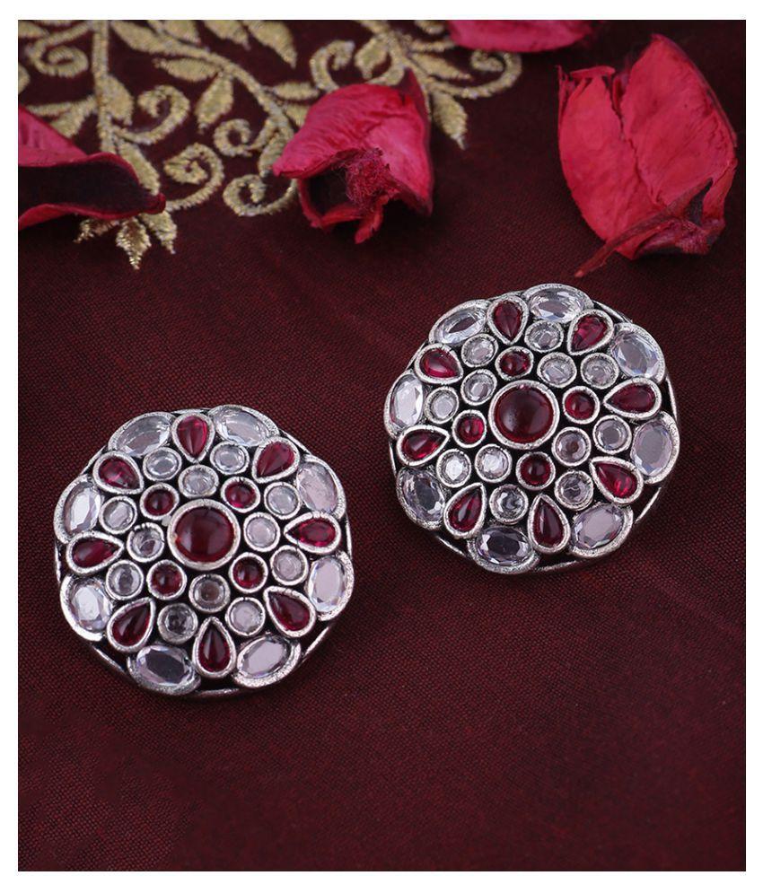 Gulistan Floral Stud Earrings