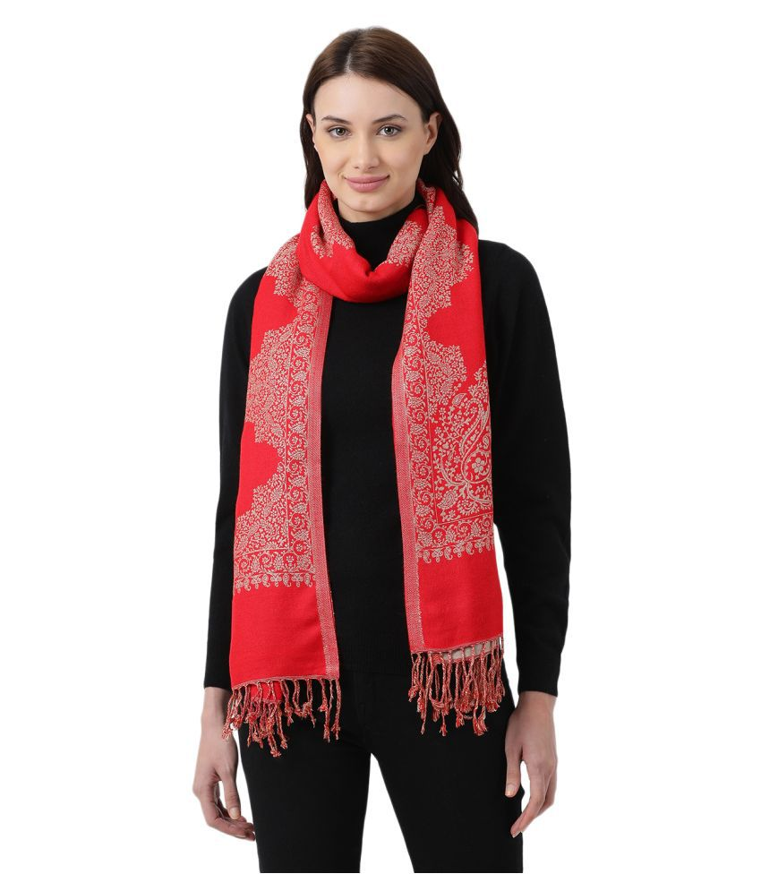 Monte Carlo Red Shawl