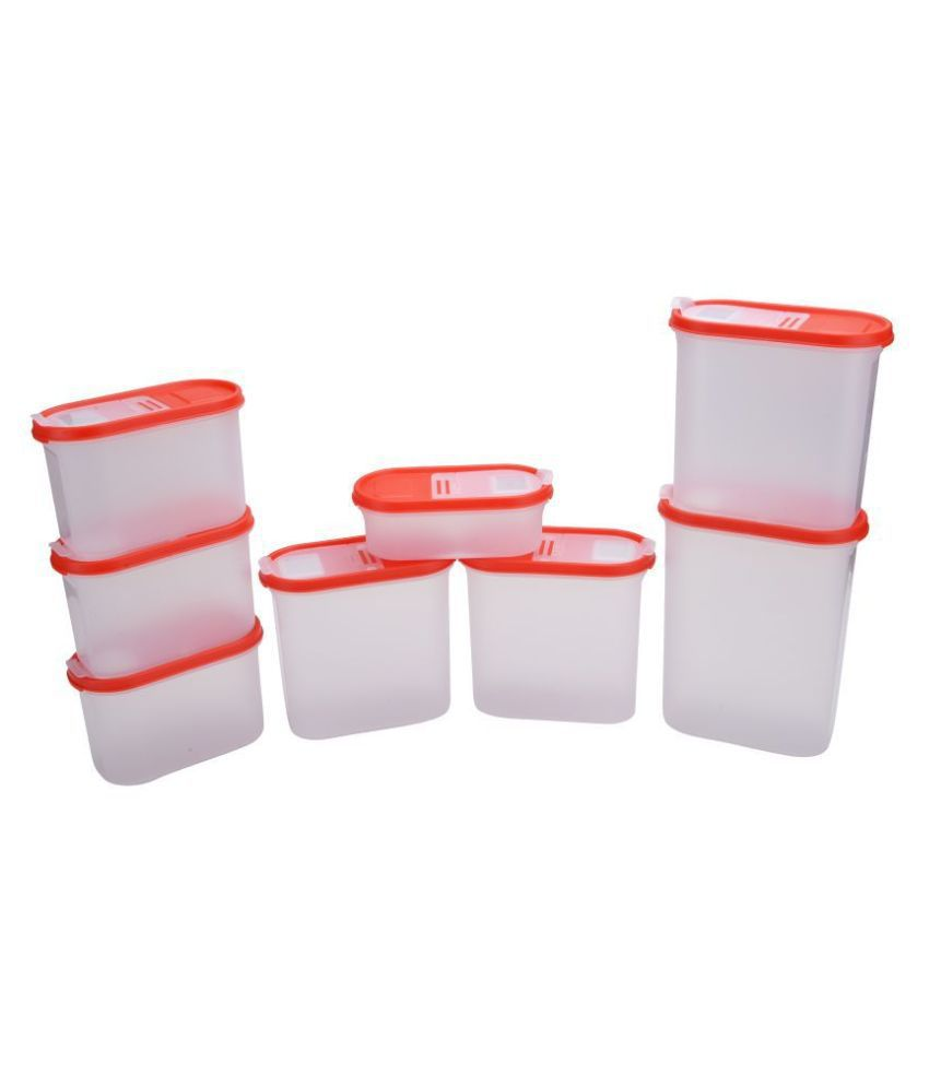 Cutting Edge Polyproplene Food Container Set of 8 11925 mL