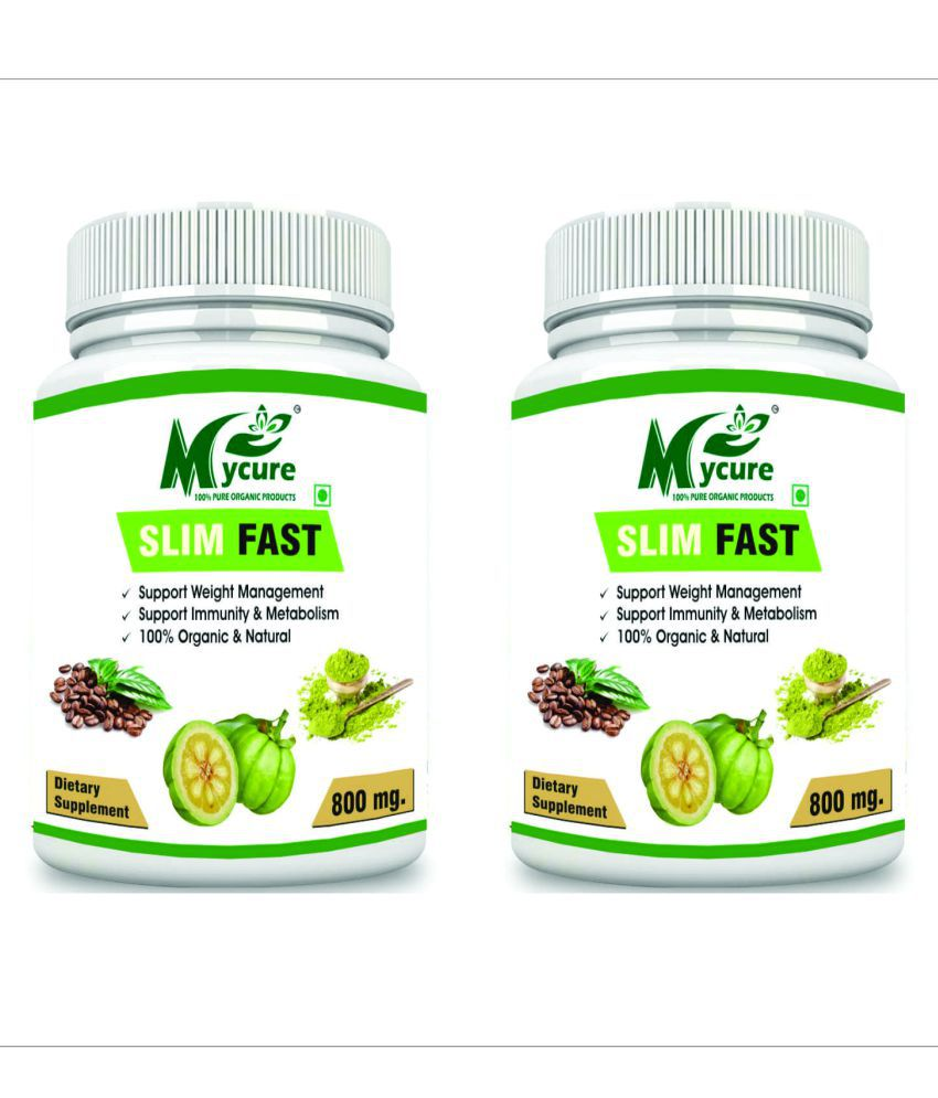 my cure PREMIUM QUALITY SLIM FAST 800 mg Pack of 2