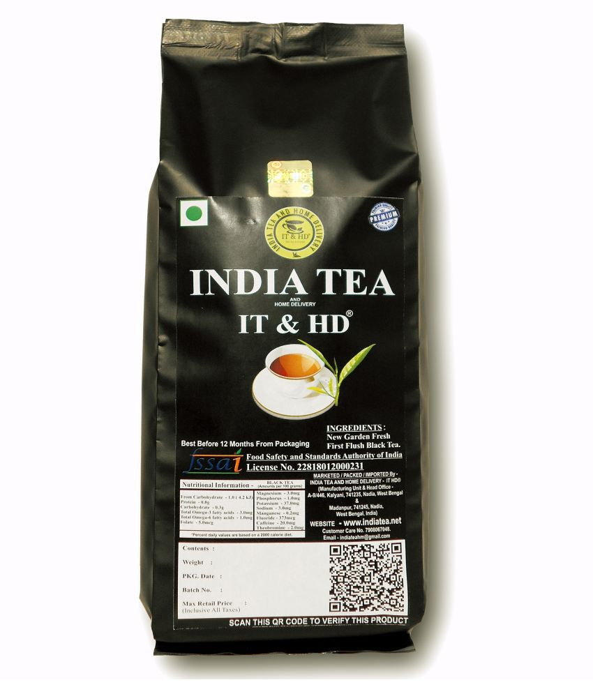 IT & HD Darjeeling Black Tea Loose Leaf 400 gm