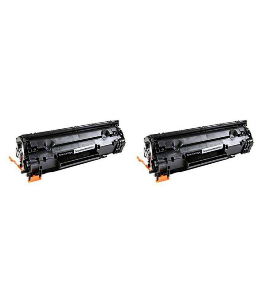 Neha 337 Black Pack of 2 Toner for MF211, MF212w, MF215, MF216n, MF217w, MF221d, MF222, MF223, MF224, MF226dn, MF229dw