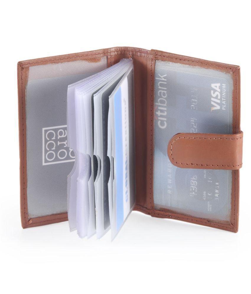 Leather Credit Card Holder Men's Wallet