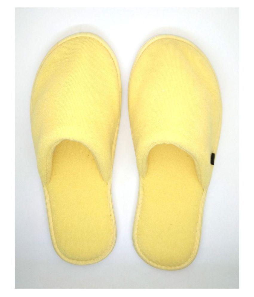MF Yellow Slippers