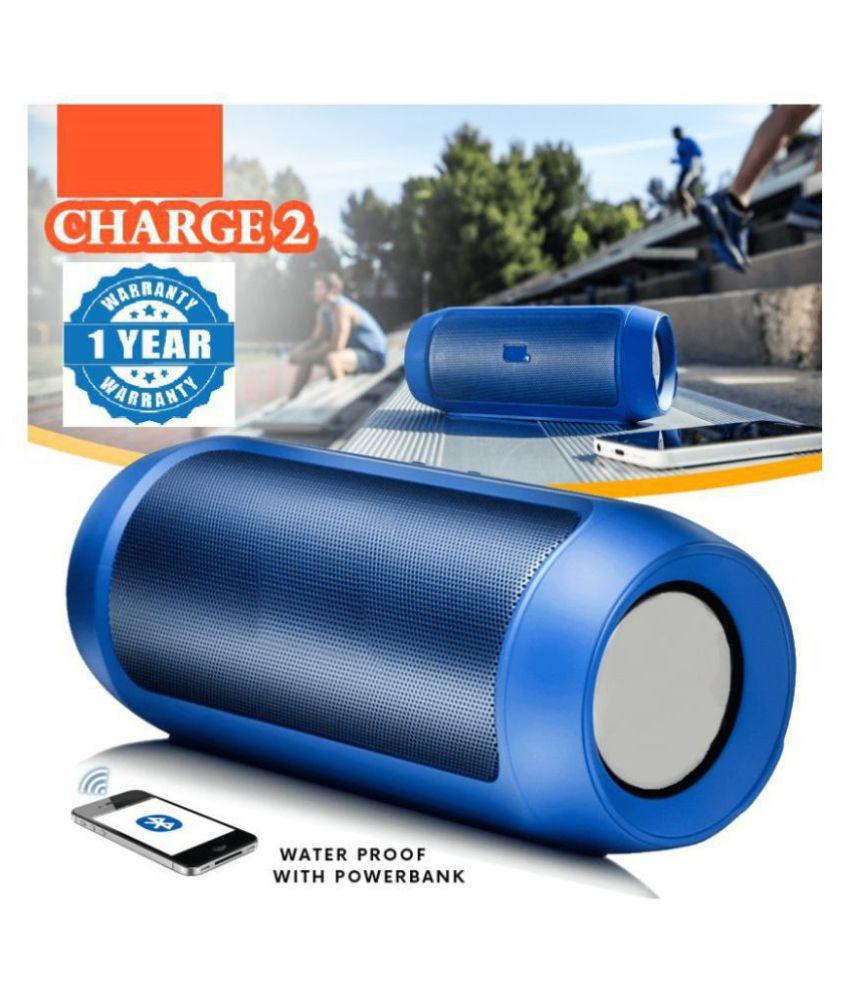 JBL Charge 2 Plus – Blue 15 W Bluetooth Speaker(Blue, Stereo Channel)