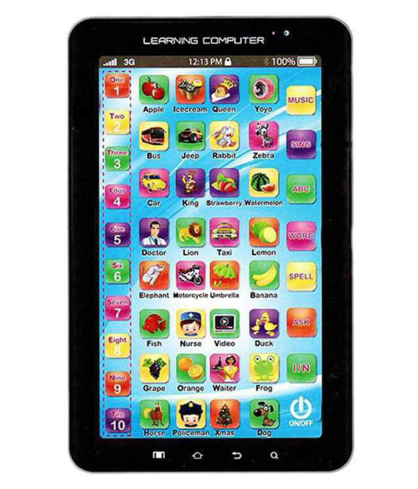 DIXSON(™)TOY'S P1000 Kids Educational Learning Tablet