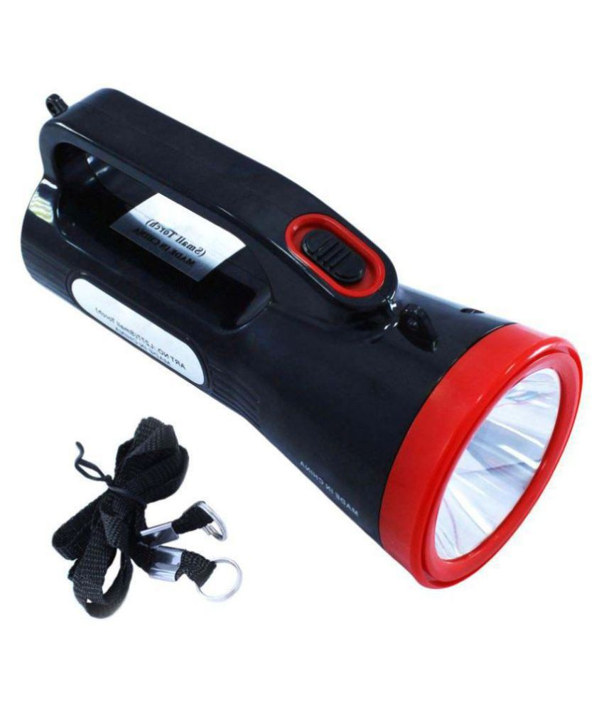 Retails Infinity 5W Flashlight Torch Powerful Bright - Pack of 1