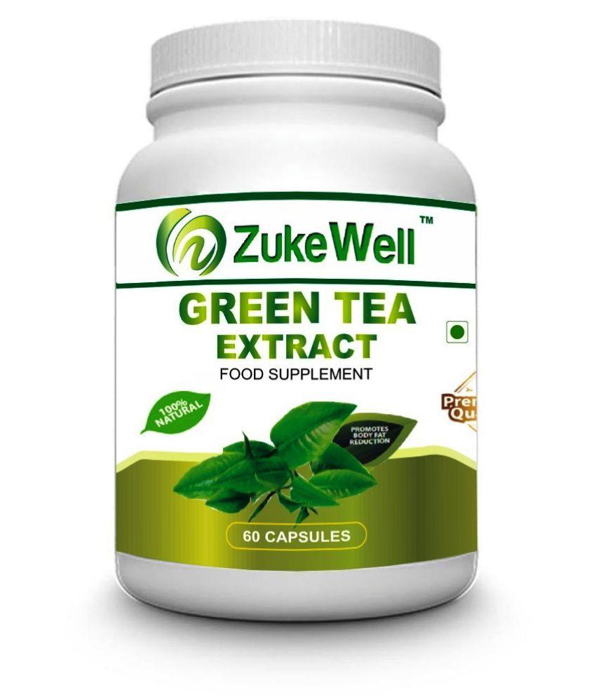 zukewell Green Tea Extract 500 mg Fat Burner Capsule