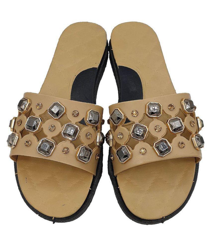 KAPANI Brown Slippers