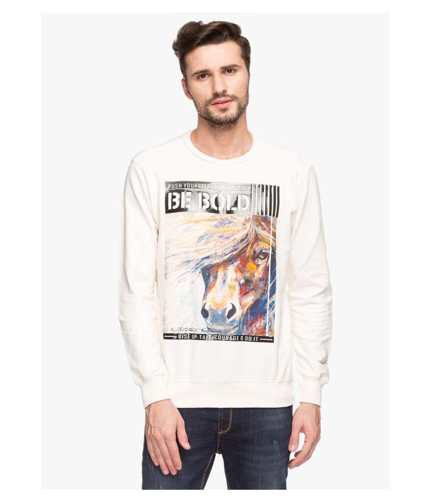 Status Quo White Sweatshirt