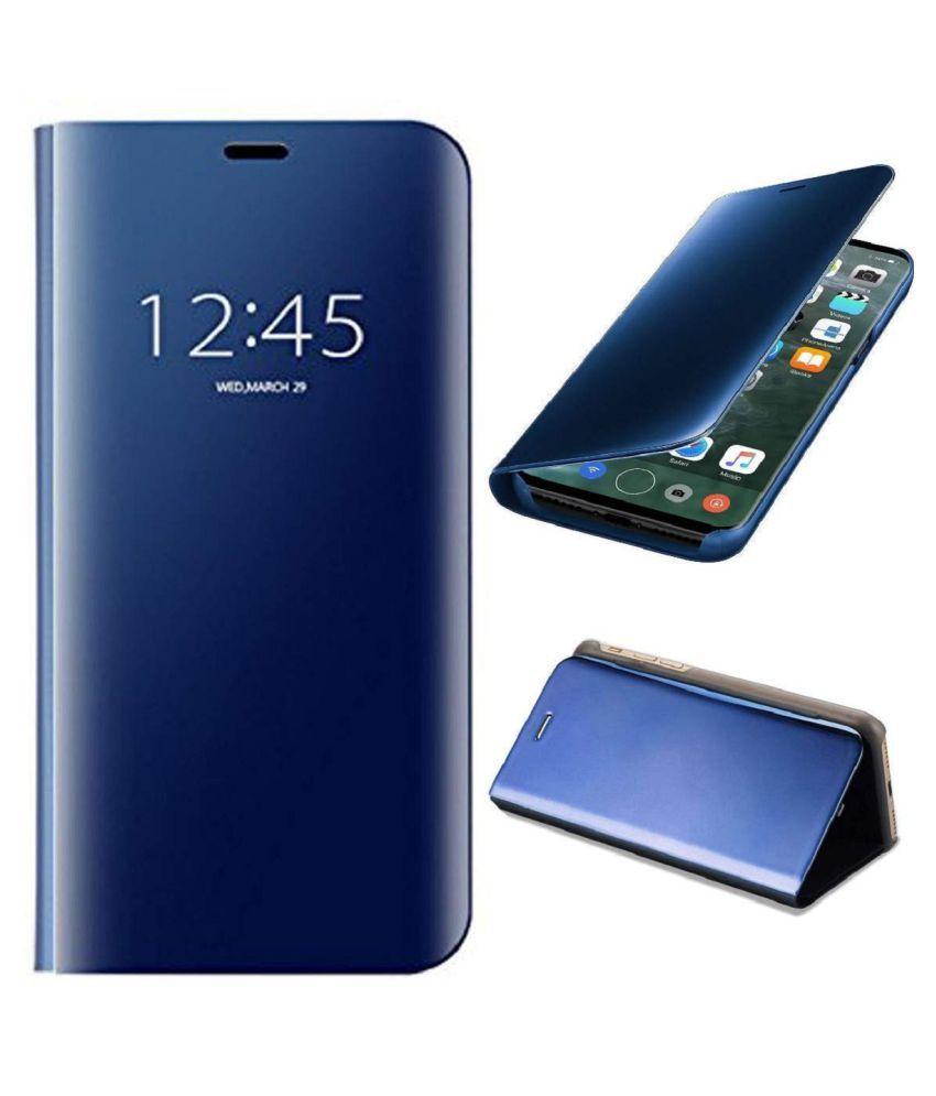 Samsung Galaxy A9 2018 Flip Cover by Lenis - Blue