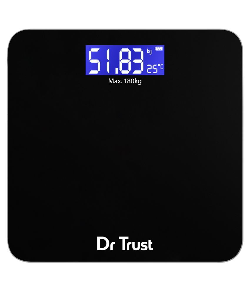 Dr. Trust (USA) Zen Rechargeable Digital Personal Weighing ...