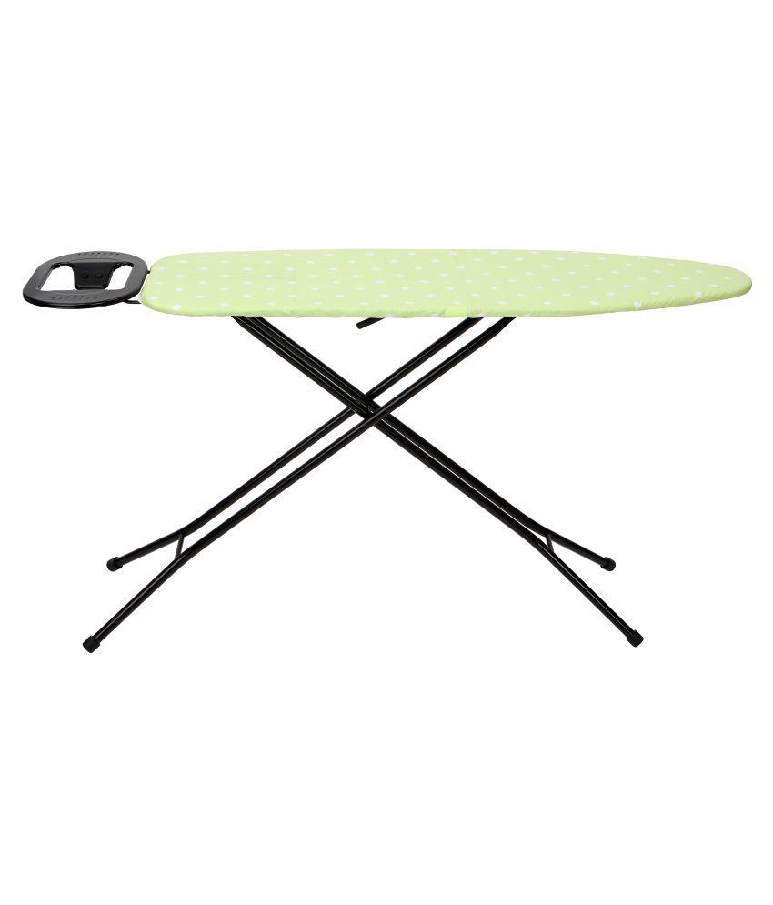 Ironing Board Black Stand 110 x 33 cm Green Dot - Eurostar