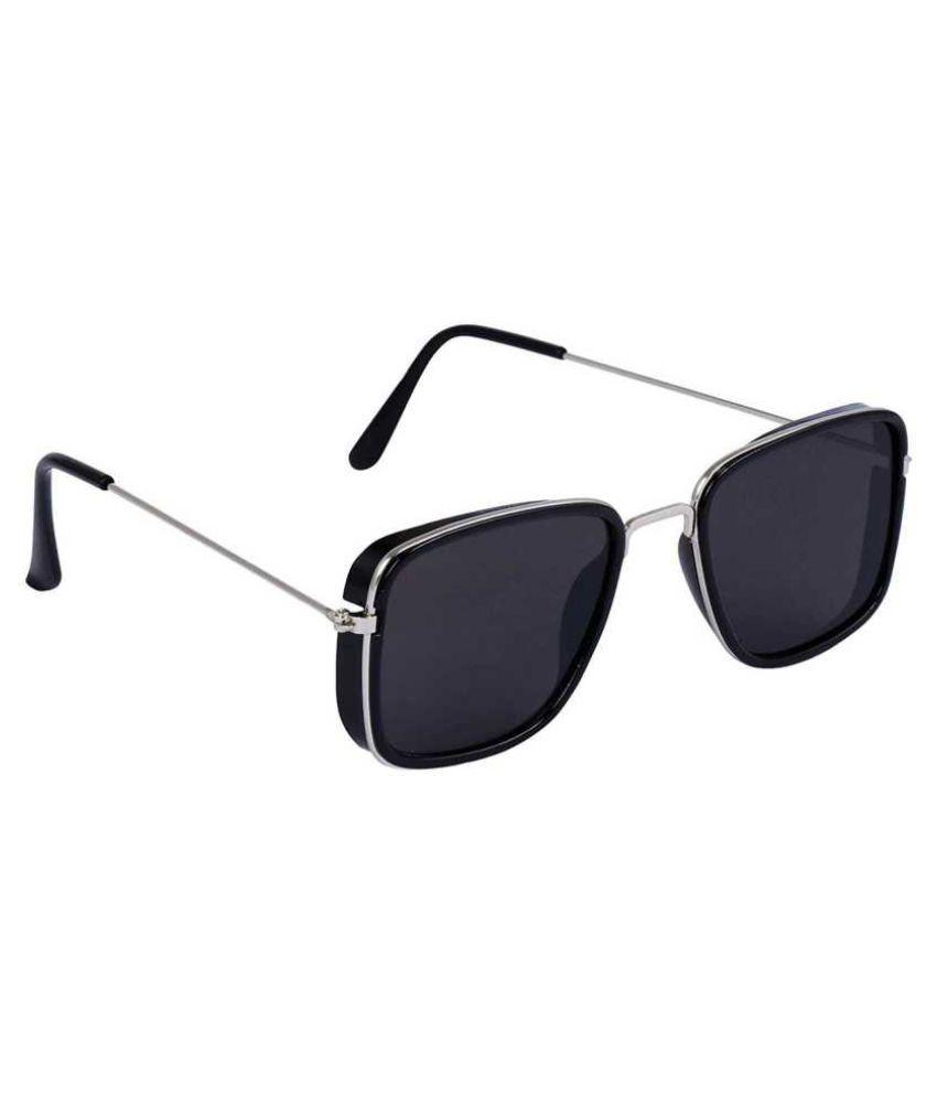 K11   Black Rectangle Sunglasses   52525