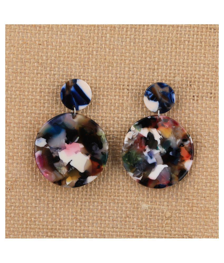 SILVER SHINE Elegant Party Wear Fancy  Dangle Earring For Women Girl