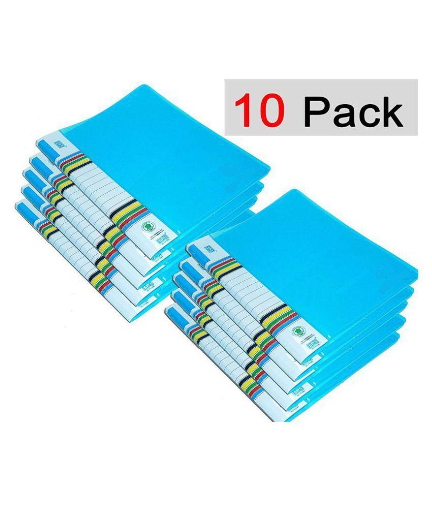SPS Parth A4 Folder Case Presentation Line Transparent Report File -10 Pieces