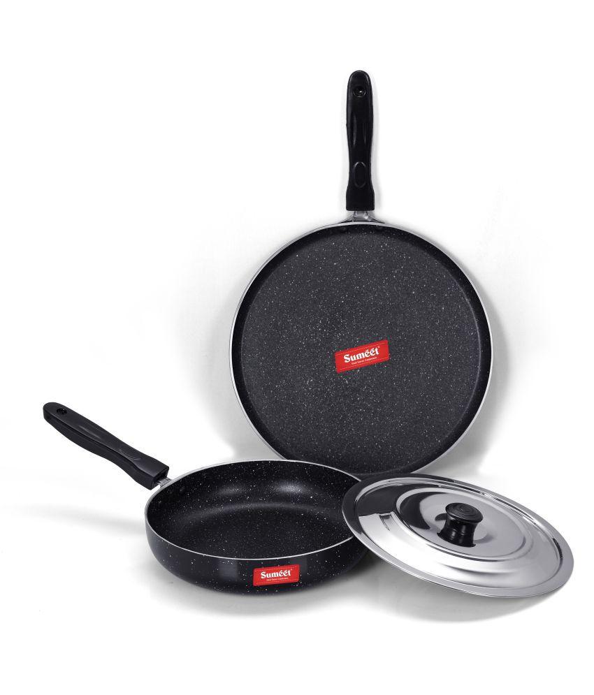 Sumeet Sparkel 3 Piece Cookware Set