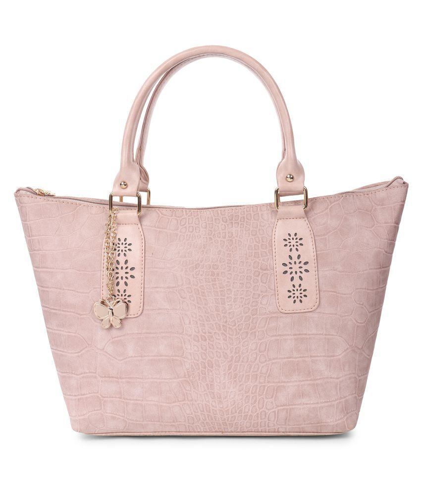 Butterflies PeachPuff P.U. Handbags Accessories