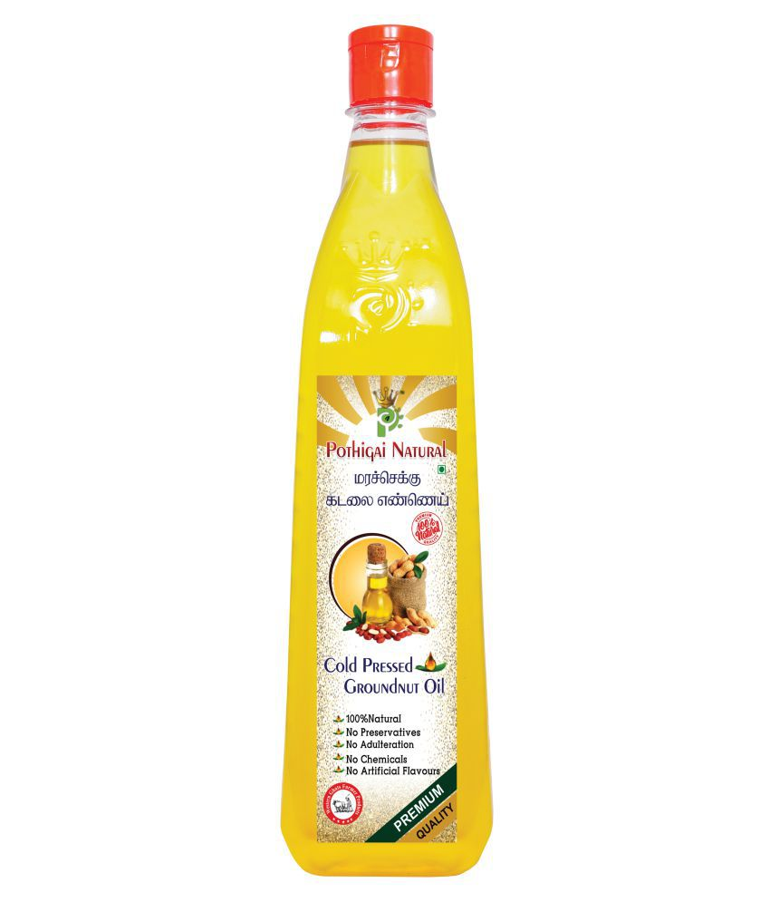 POTHIGAI NATURAL Groundnut Oil 1000 mL