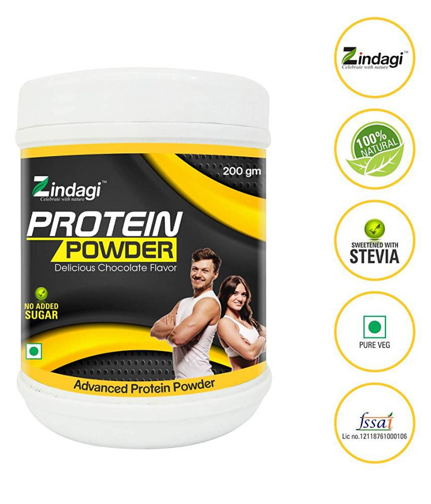 Zindagi Protein Powder - Natural Health Supplement Energy Drink for All 200 gm