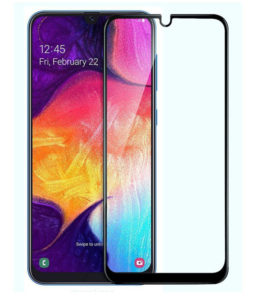 Samsung Galaxy A30 Tempered Glass Screen Guard By lenmax UV Protection, Anti Reflection