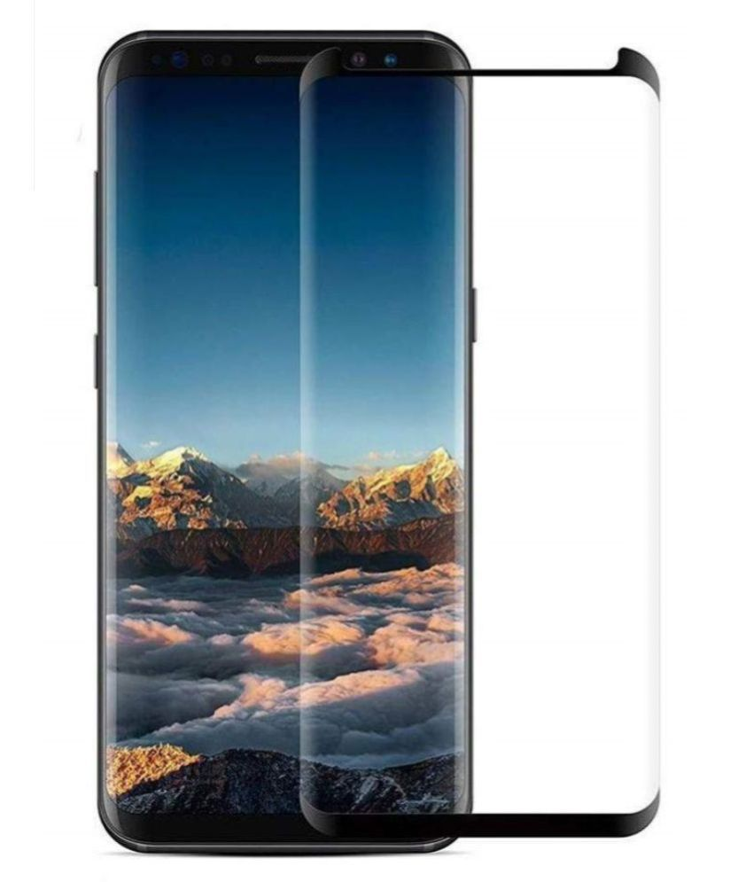 Samsung Galaxy S8 Plus Tempered Glass Screen Guard By lenmax UV Protection, Anti Reflection