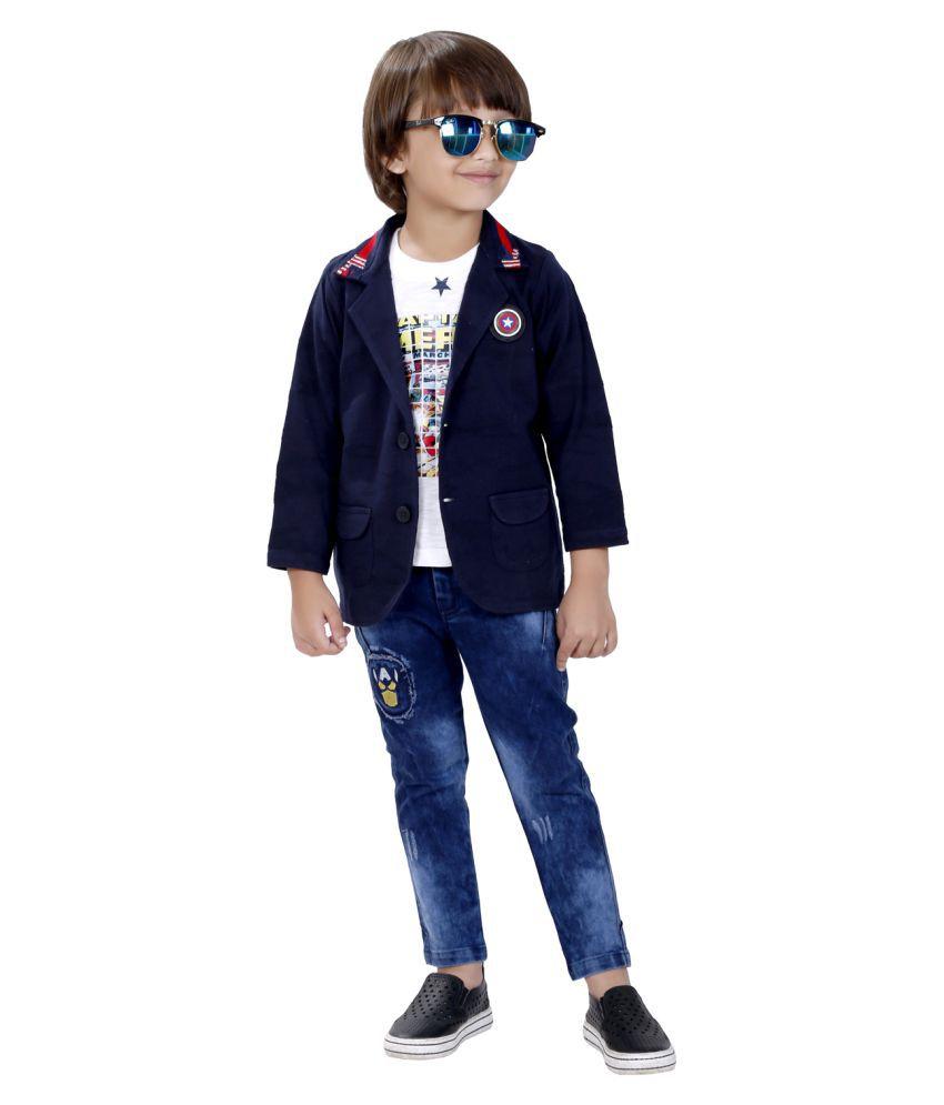Bad Boys cotton blazer set.