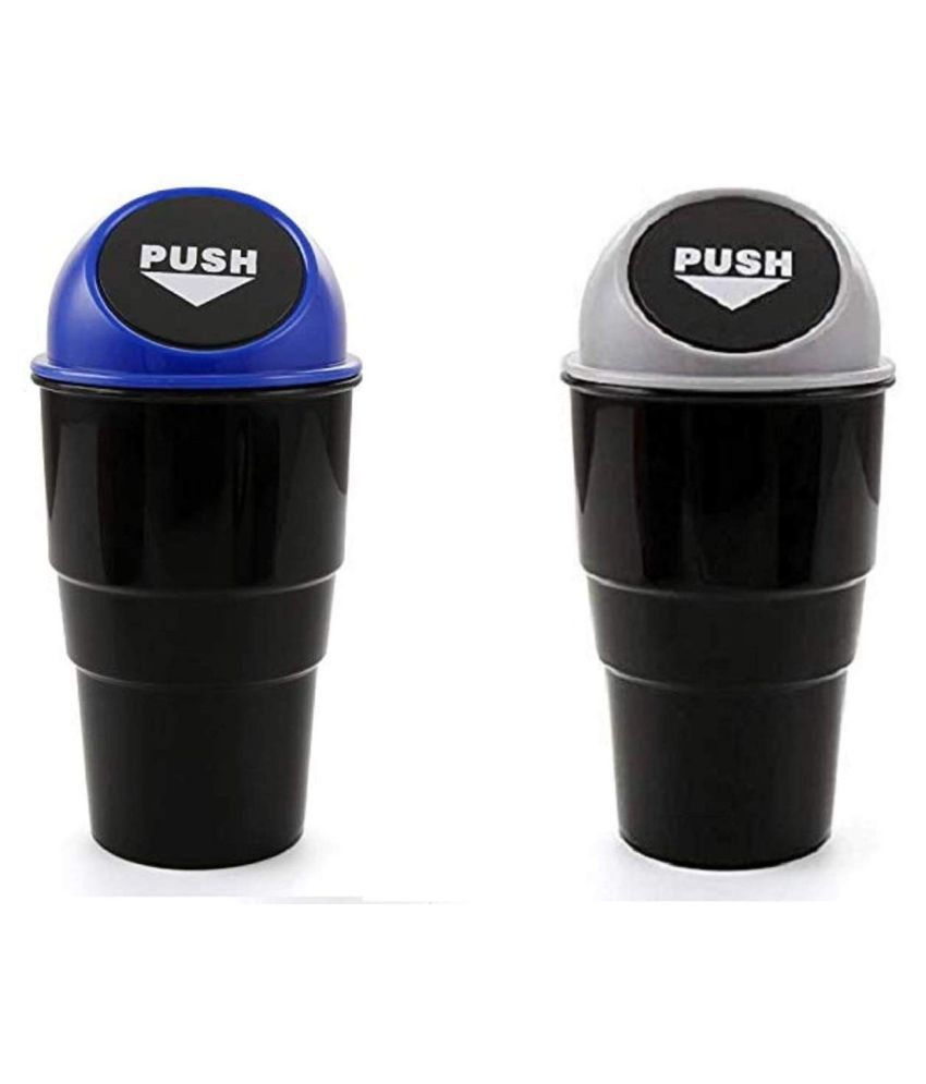 Car Trash Can Garbage Mini Dust Bin Coin Holder Ashtray Cup Home Office NEW