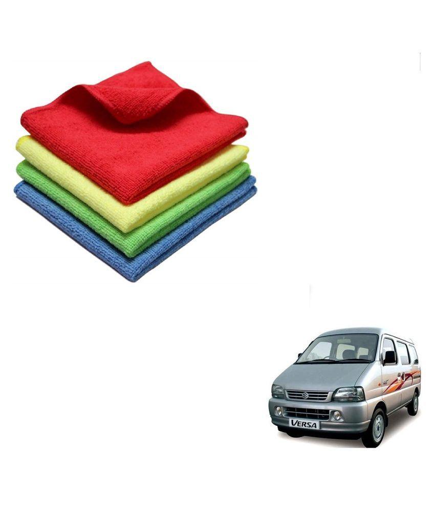 Kozdiko Microfiber Cleaning Cloth Car 300GSM 40x40 cm Pack of 4 For Maruti Suzuki Versa