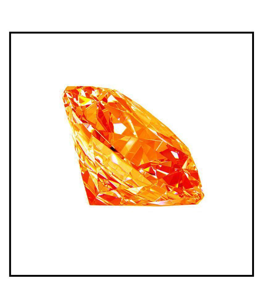 Maya Gems/6.28-Carat Top Quality American Orange Diamond