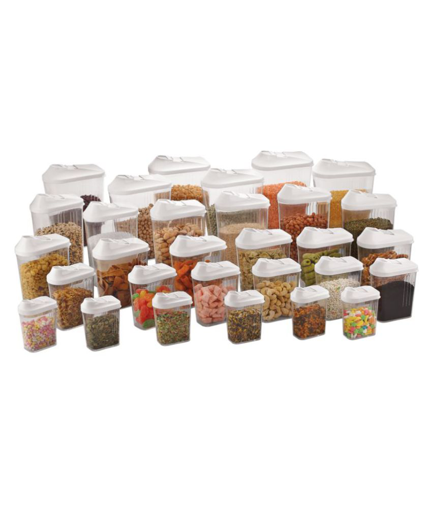 STEELO Skippar Polycarbonate Food Container Set of 30 1500 mL