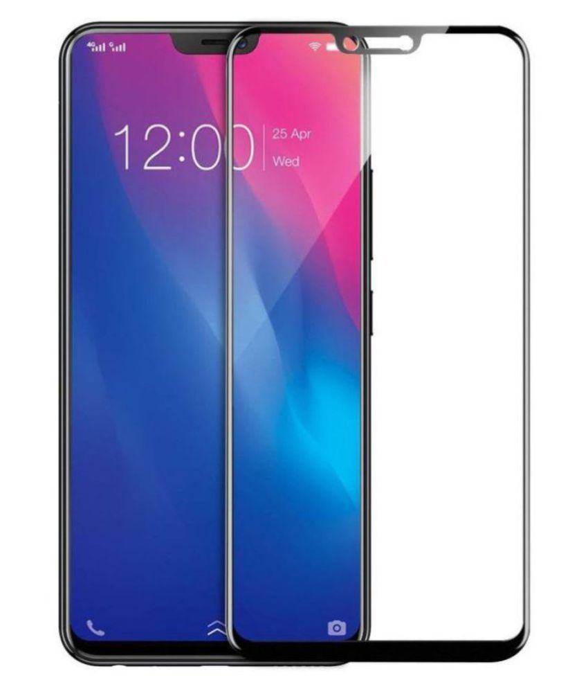 Vivo V9 Tempered Glass Screen Guard By lenmax UV Protection, Anti Reflection
