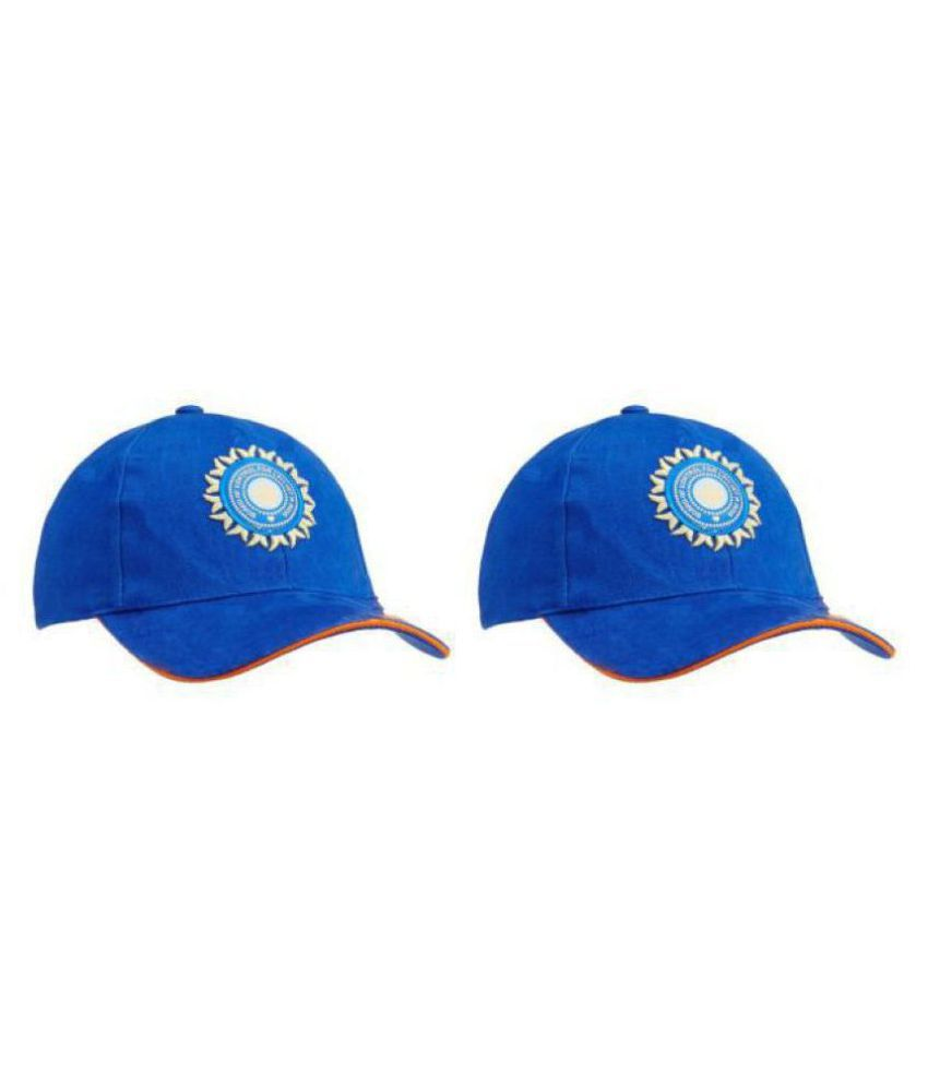 INDIAN CRICKET TEAM CAP FOR COUPLE (BOY AND GIRL) (pack of-2)
