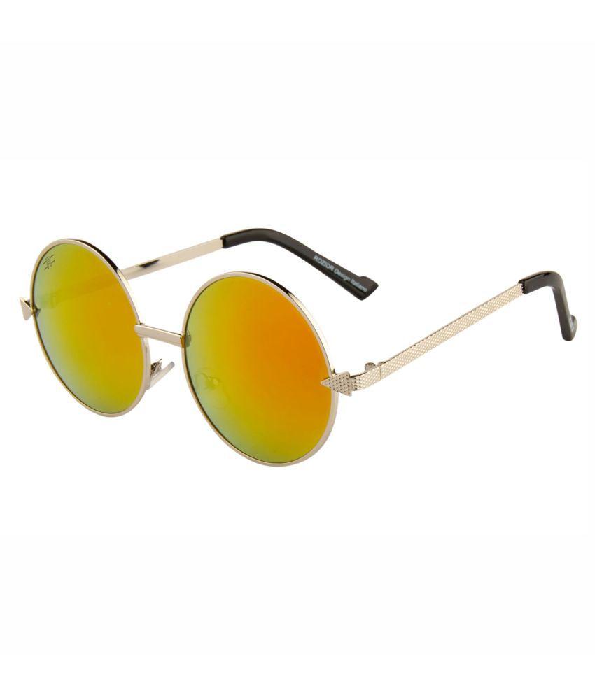 ROZIOR - Golden Round Sunglasses ( Men/Women RWUJH575M5 )
