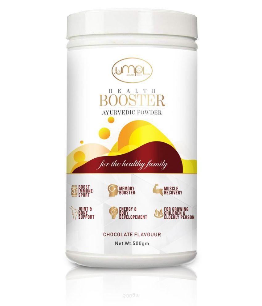 UMPL INDIA LTD Health Booster Ayurvedic Powder Energy Drink for All 500 gm