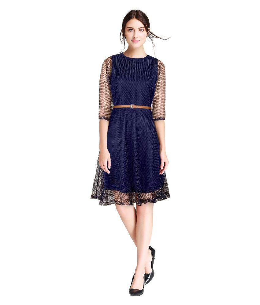 A.B.C Lace Blue Beach Dresses